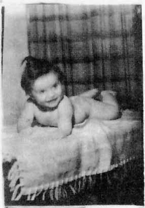 Харлан Эллисон в младенчестве. Источник: www.harlanellison.com
